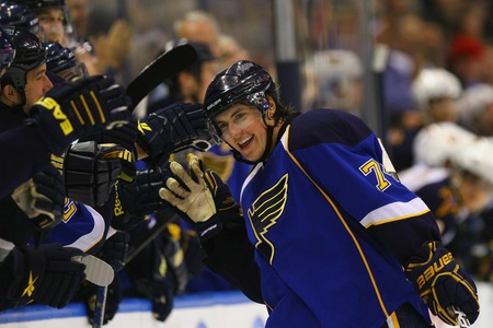 Last Season TJ Oshie Was Given A Prove It Contract From GM Doug Armstrong And Did Just That Playing In 80 Gmaes Tied For The